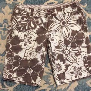 ☀️ Aeropostale Bermuda Printed Shorts Size 3/4